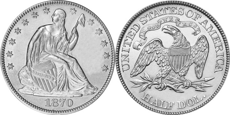 Seated Liberty Dollar Eliasberg Specimen