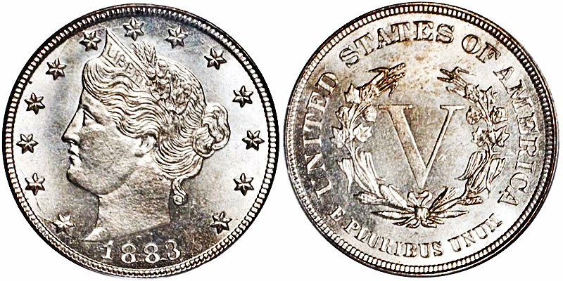 "Five-Cent Liberty Head ""V"""
